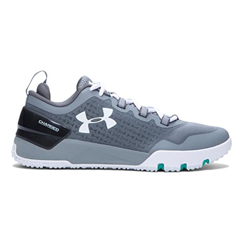 Under Armour UA Charged Ultimate TR Low, Scarpe Sportive Uomo Steel / Graphite / White