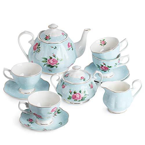 tea cup and teapot set - 9