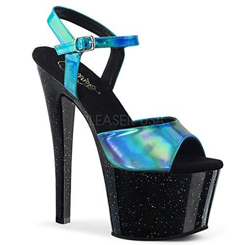 Pleaser Women's Sky-309HG Ankle-Strap Sandal ()