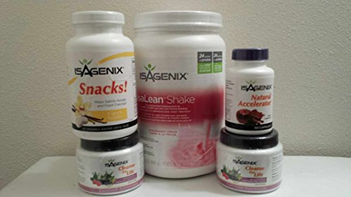 Isagenix 9-day Deep Cleansing System (Strawberry Cream Flavor) by Isagenix