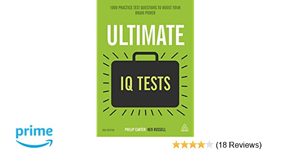 Amazon com: Ultimate IQ Tests: 1000 Practice Test Questions to Boost