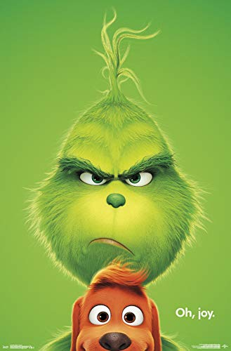 Trends International The The Grinch - Key Art Wall Poster, 22.375