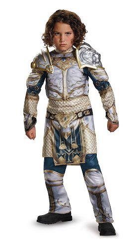 King Llane Classic Muscle Warcraft Legendary Costume, (Party City Halloween Costumes For Boy)