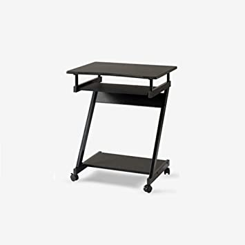 A-Fort Table Mini Personalidad con Mesa de Ruedas, Escritorio Simple, Escritorio de