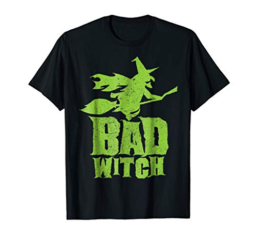 Good Bad Witch Funny Halloween Matching Costume Shirt -