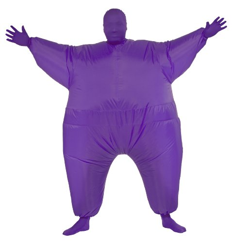 Rubie's Costume Inflatable Full Body Suit Costume, Purple, One (Suits Purple)