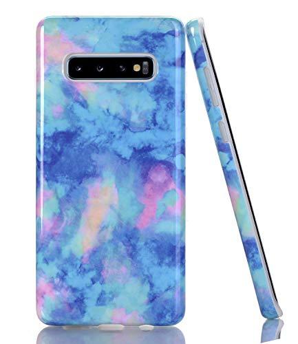 Baisrke Galaxy S10 Case Marble Design