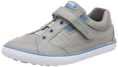 Camper Kids Unisex-Kids Pursuit 80343 Sneaker, Grey, 26 M EU Little Kid (9.5 US) by Camper