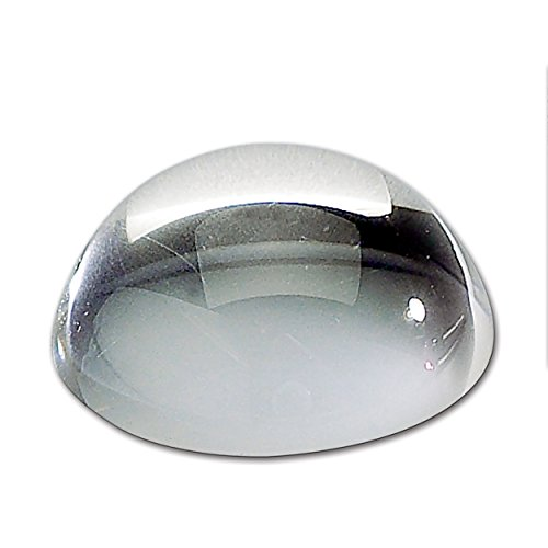 1 X Paperweight Magnifier - Dome Magnifier/Paperweight, 3.25