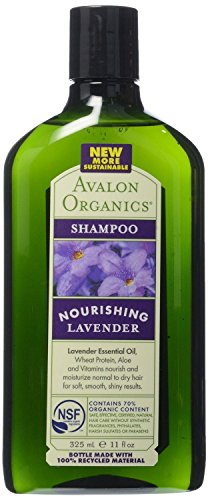 Avalon Organics Nourishing Shampoo Lavender, 11 Oz (Pack of 2) ()