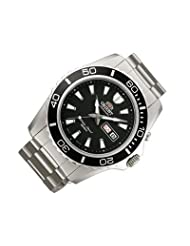 Orient #FEM75001B Men's Mako XL Stainless Steel Black Dial Automatic Dive Watch by Orient