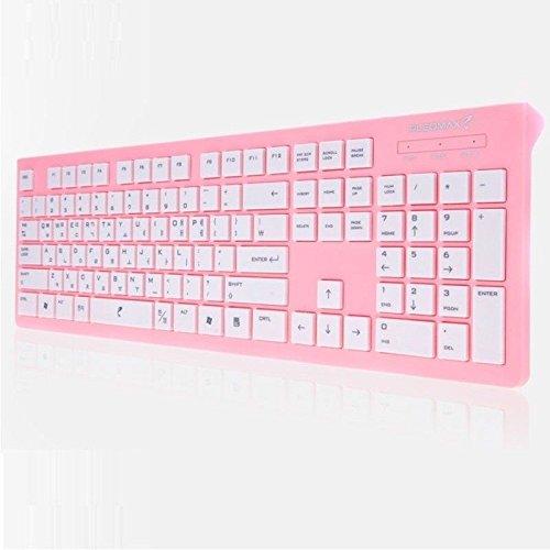 Pleomax Usb - PLEOMAX PKB-550/PINK USB Keyboard Wired Standard Keyboard Skin include PKB550
