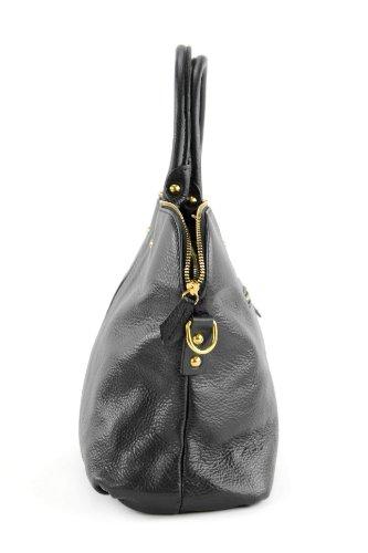 Made sac modamoda cuir en main cuir Sac Schwarz à véritable T39 in italien sac sac de Italy pour femme sac XXZ1r5qxw