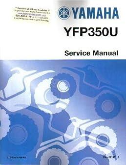 official 1988 yamaha yfp350 terra pro factory service manual amazon rh amazon com Yamaha Terrapro 350 Yfp Yamaha Terrapro Attachments