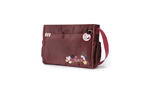 Amazon.com : Hauck Disney Minnie Mouse Changing Bag - Red : Nappy Bags Backpacks : Baby