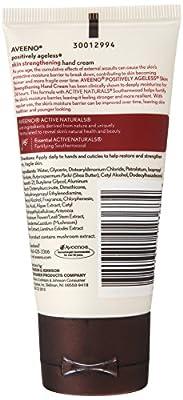 Aveeno Positively Ageless Skin Strengthening Hand Cream, 2.7 Ounce (Pack of 3)