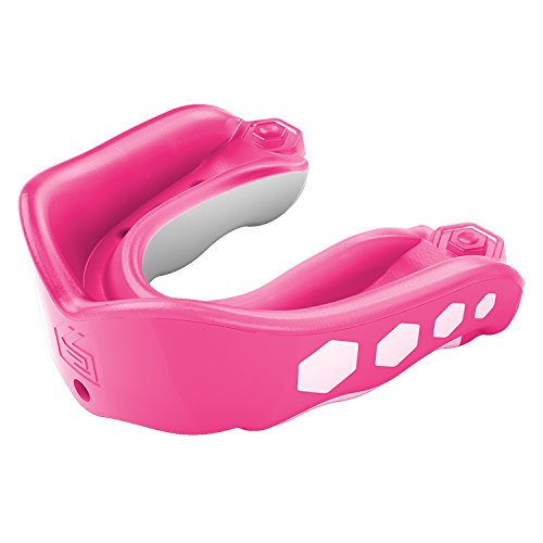 Shock Doctor Gel Max Flavor Fusion Convertible Mouth Guard, Bubble Gum, Youth