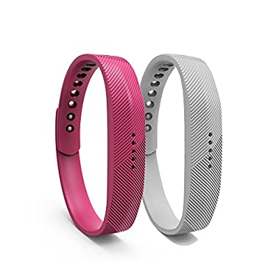 Replacement Bands with Metal Clasps for Fitbit Flex 2/Wireless Activity Bracelet Sport Wristband/Fitbit Flex 2 Bracelet Sport Arm Band - Provided by FengleMa