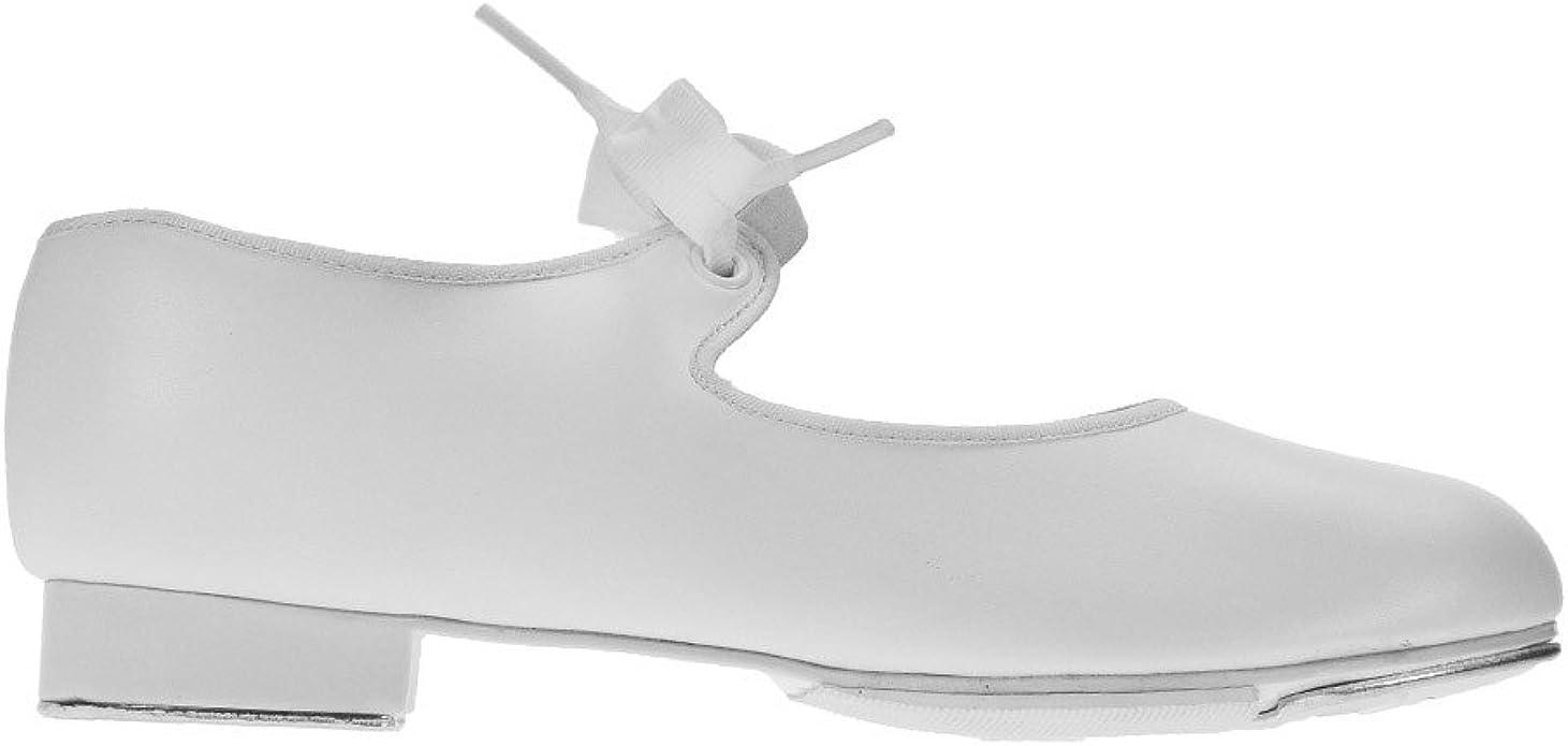 Capezio 925 White Tap Shoes Low Heel