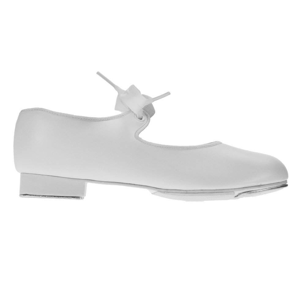 Capezio 925 White Tap Shoes Low Heel Medium Fit
