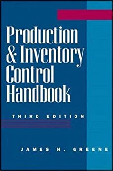 Production and Inventory Control Handbook 9780070244283 Higher Education Textbooks at amazon