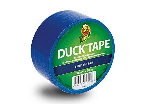 Duck Tape Colour Blau - Deko Klebeband zum Basteln und Dekorieren 100-02