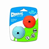 Chuckit! Small The Whistler Ball 2-Inch, 2-Pack, My Pet Supplies