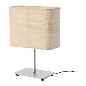 Ikea Lampe De Table Magnarp 35cm Papier De Riz Amazon Fr