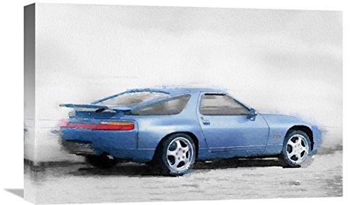 "Naxart Studio Porsche 928 Watercolor Giclee on Canvas, 24"" x 1.5"" x 16"" from Naxart Studio"