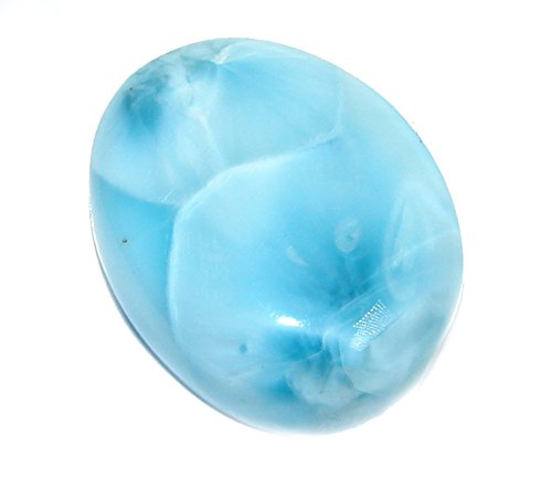Natural Blue Larimar From Dominican Republic 20.5ct Loose Stone from SilverRush Style from SilverRush Style