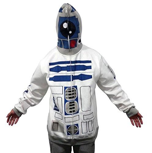 Fuman tar Wars I am R2D2 Pullover mit Kaputze