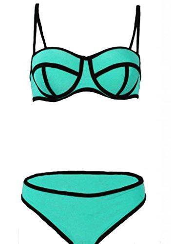womens Push Up two piece Sexy Biniki Swimsuit Triangl Beachwear xs