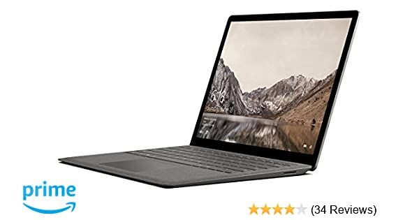 Microsoft Surface Laptop, Model 1769 (DAG-00003) Graphite Gold, Intel i5,  8GB RAM, 256GB SSD, Win10S (Renewed)
