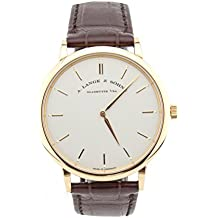 A. Lange & Sohne Saxonia mechanical-hand-wind mens Watch 220514 (Certified Pre-owned)