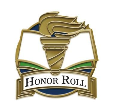 Honor Roll Lapel Pin - Honor Roll Pin - 1