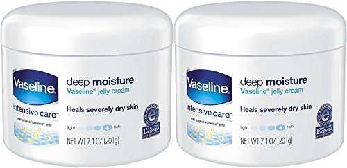 Price comparison product image Vaseline Intensive Care Deep Moisture Jelly Cream 7.10 oz (Pack of 2)
