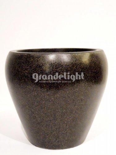 Capi Lux 31 x 28 cm, rund I Pflanztopf Vase, Schwarz: Amazon.de ...