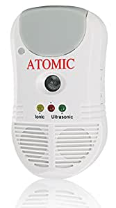Atomic 5 in 1 Advanced Technology Electronic Pest Repeller.Against Insects. Mice. Rats.Spiders.