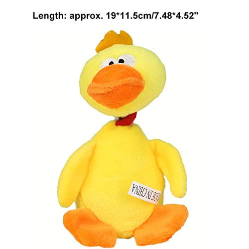 imal Pet Doy Toys Pet Chew Squeaker Sound Toy For Dog Cats Palying Interactive Pig Duck Toy 04 ()