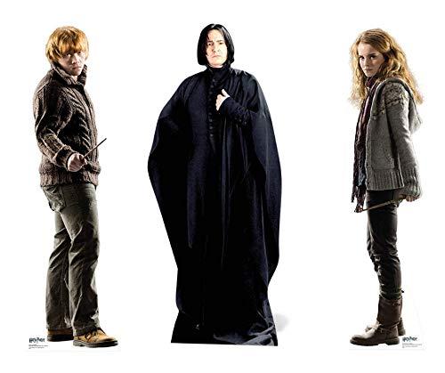 partyman.co.uk Severus Cradboard Snape 183 cm, diseño de Silueta ...