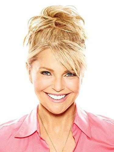 Natural Tone Hair Wrap  HT14/88H Light Blonde - Christie Brinkley 6'' Overall Length Heat Friendly Textured Hairpiece Fun Bun Chignon by Hair2wear