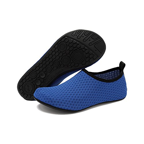 for Shoes Water Aqua BlanKey Xuehua Drying Water Barefoot Sport Women's Slip Men's On Blue Exercises Kids Quick qXXPgw