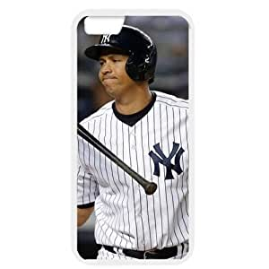 MLB iPhone 6 White New York Yankees cell phone cases&Gift Holiday&Christmas Gifts NBGH6C9125132