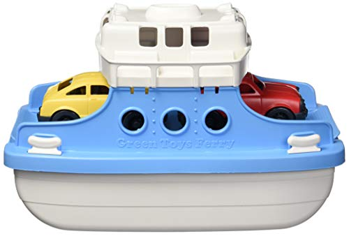 Green Toys Ferry Boat Toy, Blue/White