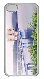 Customized iphone 5C PC Transparent Case - Tuyen Lam Lake Da Lat Viet Nam Personalized Cover