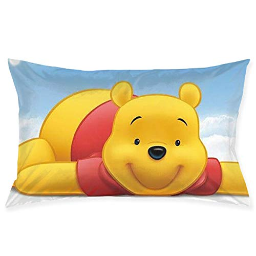 Pillow Cases Winnie The Pooh Throw Cushion Covers Body Pillow Cover for Car Sofa Bed Home Decor 20