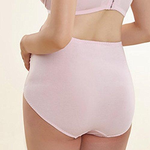 Aivtalk - Bragas de Embarazo de Modal Confortable Calzones Soporta al Abdomen para Mujeres Embarazadas Premamás Rosa
