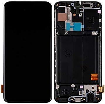 swark Super AMOLED - Pantalla compatible con Samsung Galaxy A40 SM-A405F, SM-A405FN, SM-A405FM (negro con marco) digitalizador táctil con herramientas: Amazon.es: Electrónica