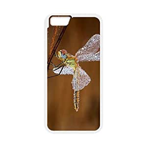 "T-TGL(RQ) Iphone6 4.7"" DIY Phone Case Dragonfly with Hard Shell Protection"