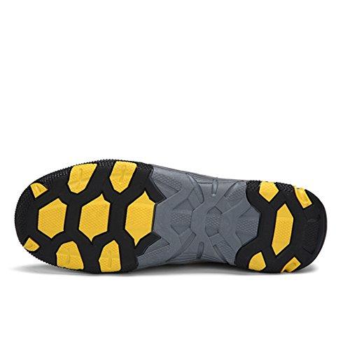 Xiafen Casual Fashion Mens Traspirante Comfort Scarpe Da Ginnastica Outdoor Scarpe Grigie